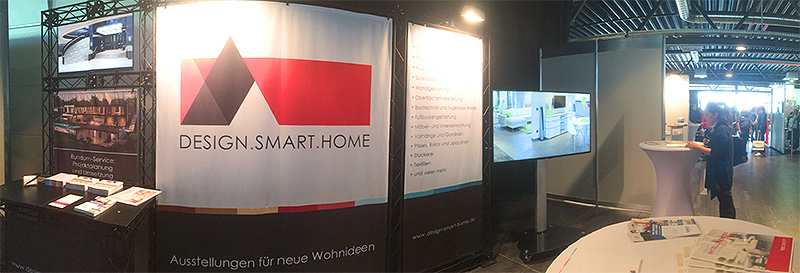 DESIGN.SMART.HOME Messestand