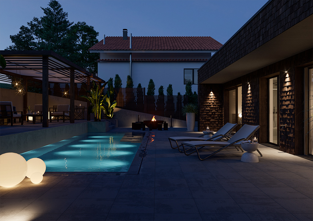 3D Visualisierung Pool
