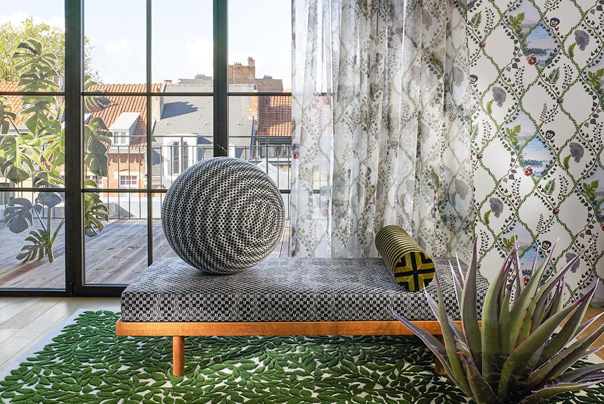 Textilien und Dekoration