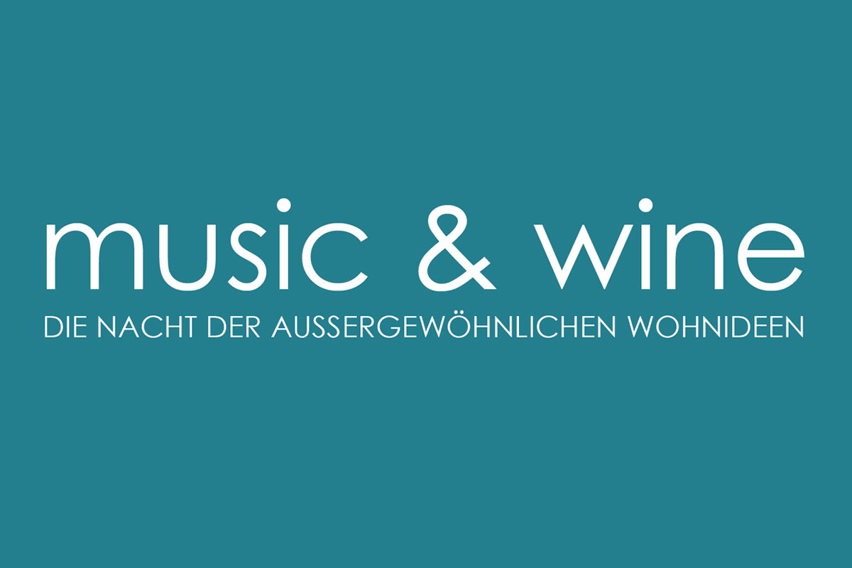 Music & Wine - Nacht der Wohnideen